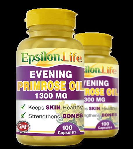 Evening Primrose Oil Capsules - Epsilon Life