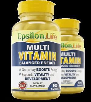 Multivitamin and Mineral Complex - Epsilon Life