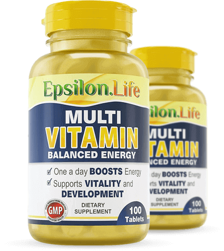 Multivitamin and Mineral Complex - Epsilon Life